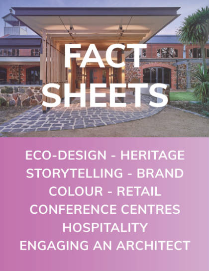 Fact Sheets - Eco Design, Heritage, Brand Design, Retail, Function, Hospitality