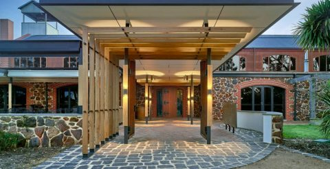Cellar Door Design - Entry - Wirra Wirra Wines
