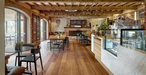 Wirra Wirra Wines - Harry's Deli Cafe Interior Design