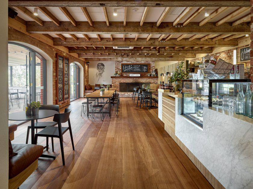 Wirra Wirra Wines - Harry's Deli Cafe Interior Design