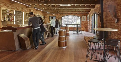 Wirra Wirra Wines - Cellar Door Tasting Room Design